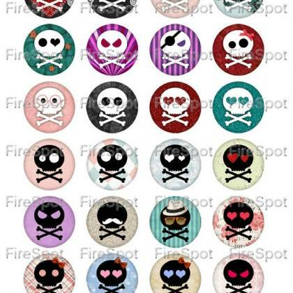 Black Skull white Skull Hallowmas-D..