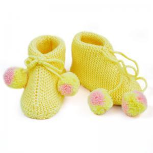 Wool Knitting shoes Knitted baby bo..