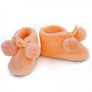 Knitted baby bootie Knit Baby socks..