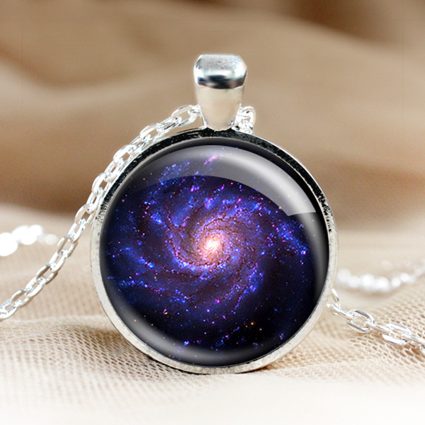 Universe glass pendant necklacelaxy pendant photo pendants universe glass pendant necklacelaxy pendant photo pendantslver jewelry1 inch roundoto necklaceass jewelryass charm hd17 aloadofball Gallery